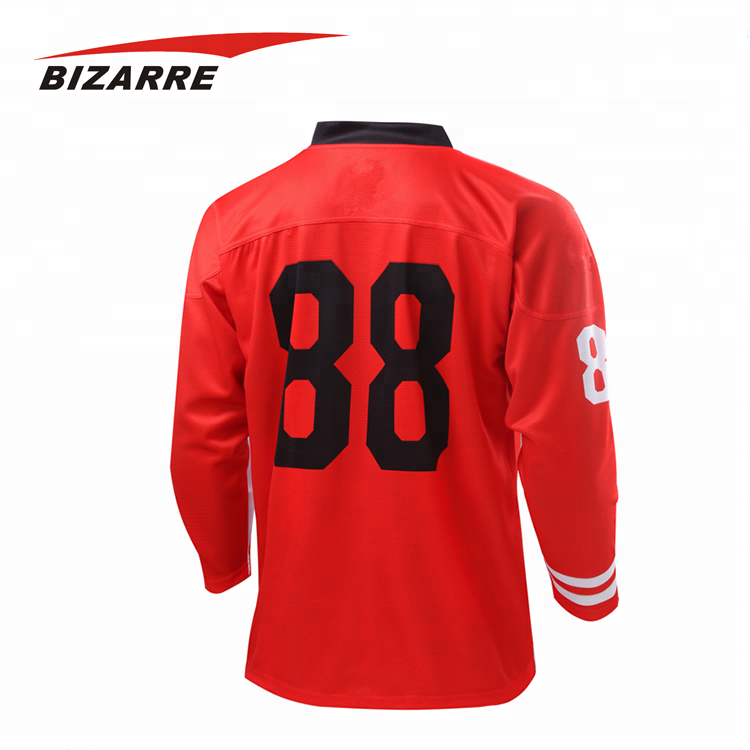 Customized Latest Team Sublimation Ice Hockey jersey