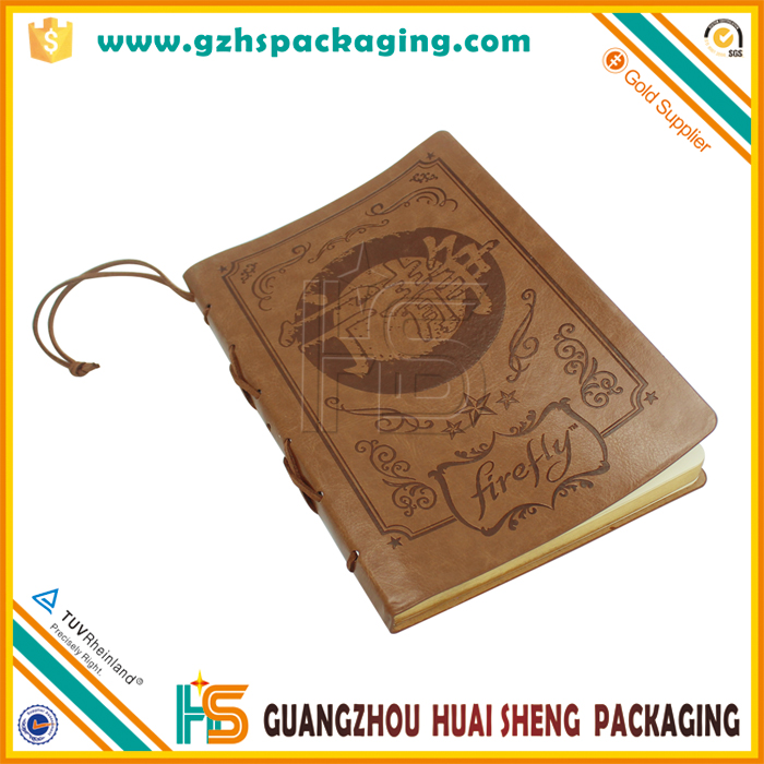 Wholesale handmade leather cover notebook,leather book,leather book cover