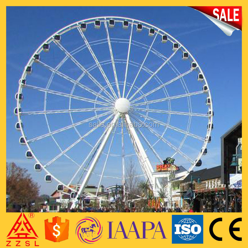 For Sale FRP/Fiberglass Reinforced Plastic Vivid Figures Giant Ferris Wheel for Outdoor Playground