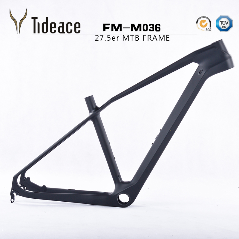 Toray T1000 Super light full carbon fiber mountain bike frames, 27.5er carbon mountain bike frameset, tideace FM-M036 frameset
