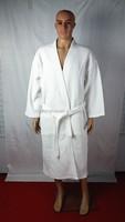 unisex cotton hotel waffle bathrobe