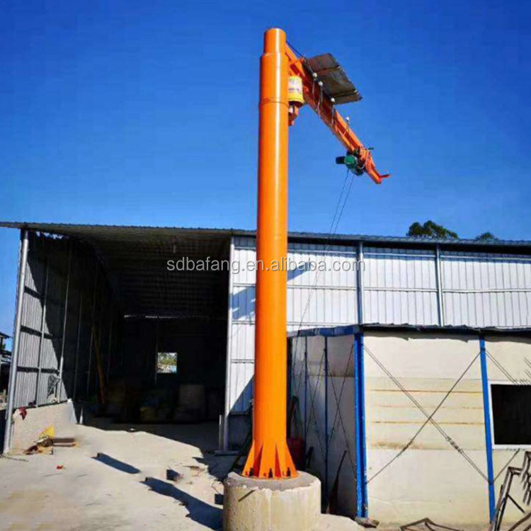 Small cantilever crane used for  workshop warehouse