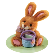 Plush &stuff traditional bunny w/basket