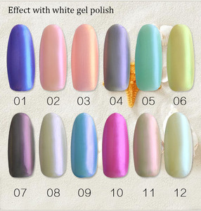 private label nail gel 15ml fashion charm limit mermaid shell nail polish