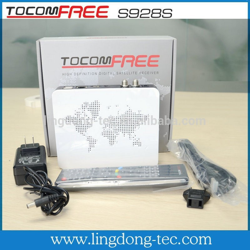 iptv <strong>set</strong> <strong>top</strong> box <strong>tv</strong> receiver tocomfree s928s iks sks free for south america twin <strong>tuner</strong>