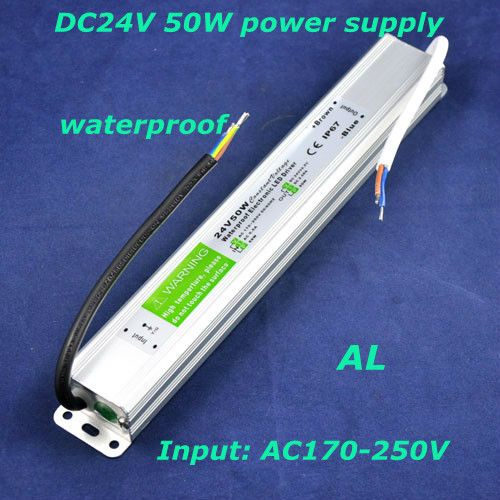 Hottest!Aluminium DC 24V IP67 waterproof power supply for LED Driver