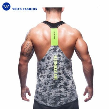Sublimation Camo Tank Top Gym Stinger Vest Tank Top Men Gym Custom ...