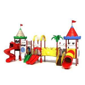 Latest Product Superior Quality Colorful Castle Digital Playground Used Preschool Playground Equipment