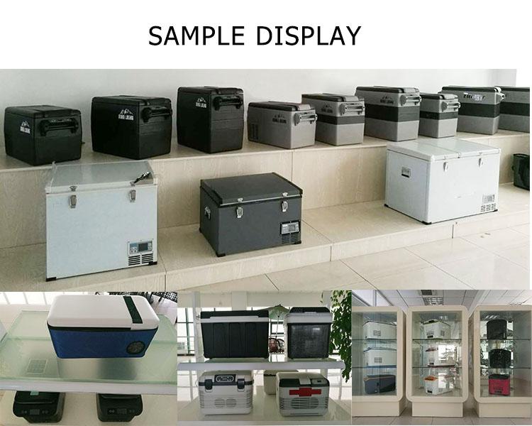 42L DC 12/24v car refrigerator compressor camping freezer/fridge refrigerator with compressor