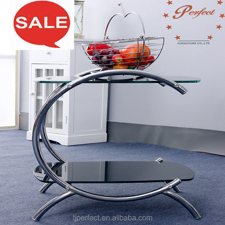 modern portable multi-functional bedside laptop desk /coffee table with storage basket
