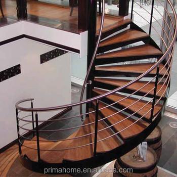 Precio De Madera Escalera Espiral Cubierta De Madera Pequeña Escalera Para Casas  Pequeñas