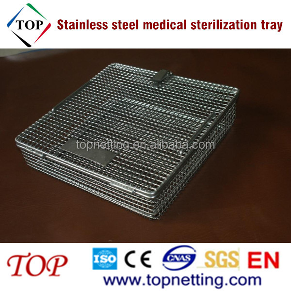 Stainless Steel Medical Sterilization Tray