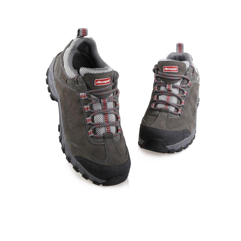 waterproof outdoor men walking hiking Genuine leather shoes OwgqxFU