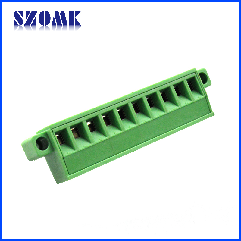Pcb Screw Terminal Block 5.08mm 2-24 Poles Wire Connector Electric ...