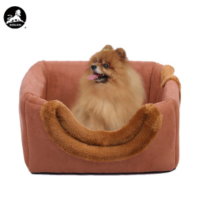 RoblionPet wholesale pet bed Comfortable Self Warming square Dog Nest Cat Sleeping Nest