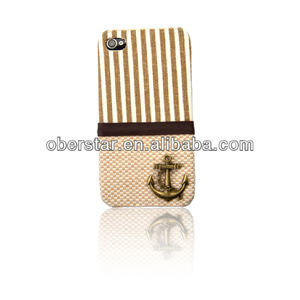 New For Apple iPhone 4 4S Red Striped Americana Design Hard Back Case