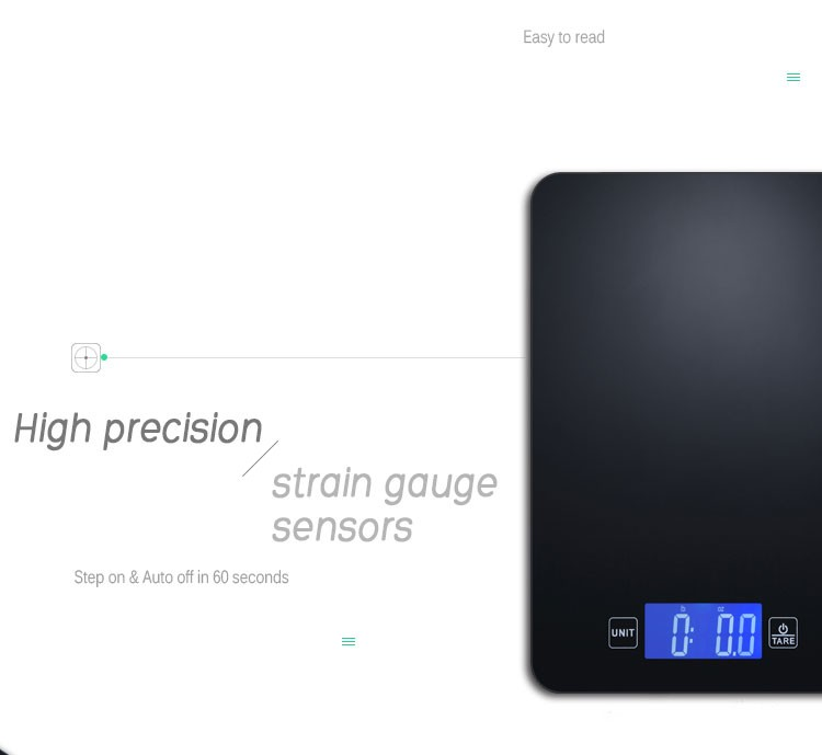 5kg precision household electronic digital food diet for Bluetooth kitchen scale