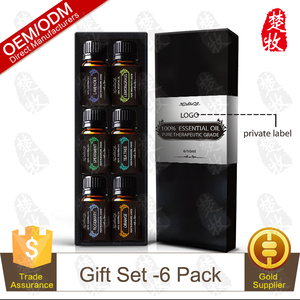 Beauty Best Selling Product Health Care Aromatherapy Pure Essential Oil Gift Set 10ml/6pcs Private Label