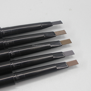 on logo Pencil with brush good for microblading pigment eyebrow