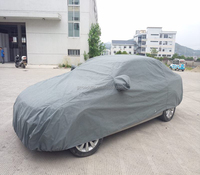High quality factory supply waterproof and UV protection car cover pvc with cotton for GMC Car