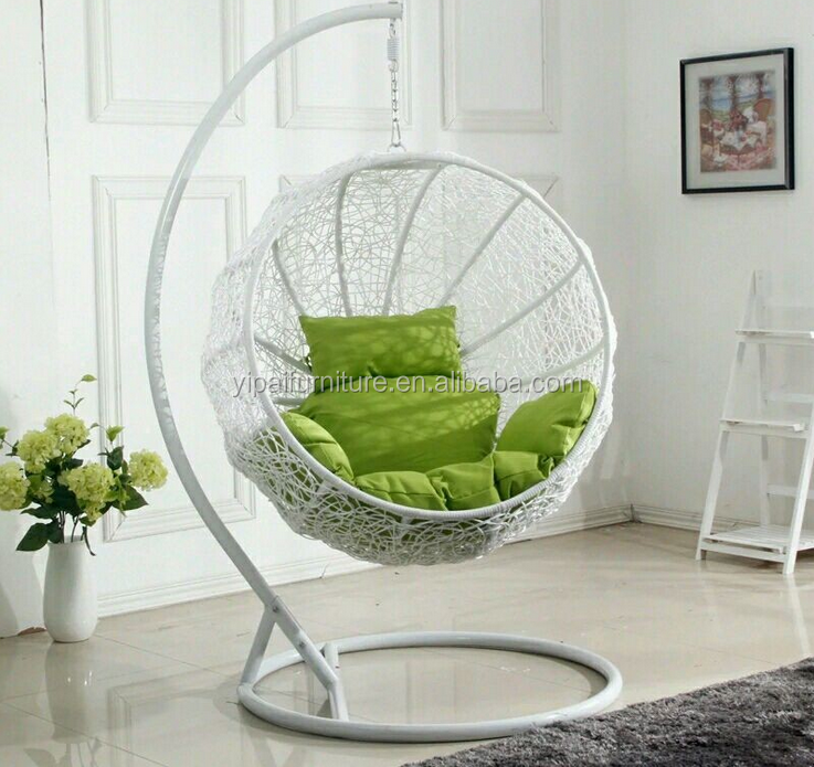 cheap price indoor outdoor patio rattan wicker hanging egg swing chair