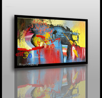 Great artwork Hand painted seascape abstract acrylic oil paintings on canvas