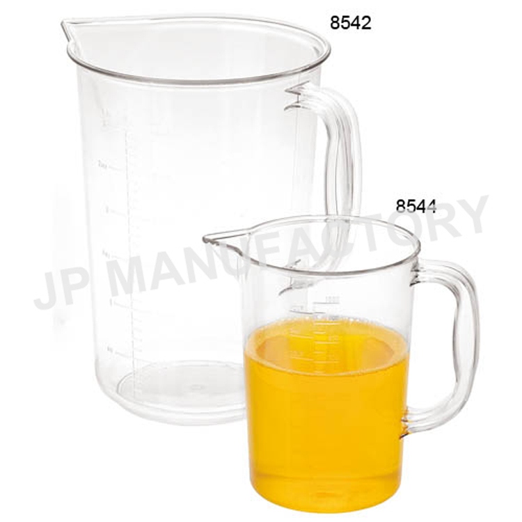 Unbreakable Plastic Measuring Cups with handle