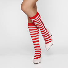 2015 Top Latest Design New Arrival Body Suits For Hot Women Red And White Striped Stockings Sexy SCHOOL GIRLS STOCKINGS