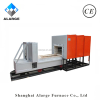 China Manufacturer Electrical Ceramic Car Bottom Resistance Furnaces with High Temperature up to 1200.C