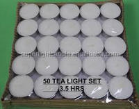 china-made white unscented pressed tealight candle supply