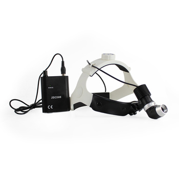 7w led surgical headlight Medical headlight with light cable ENT headlight