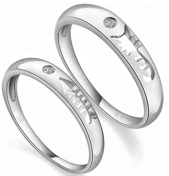 0956558c90 Hot Sell Sterling Silver Matching Couple Ring - Buy 925 Silver Couple ...