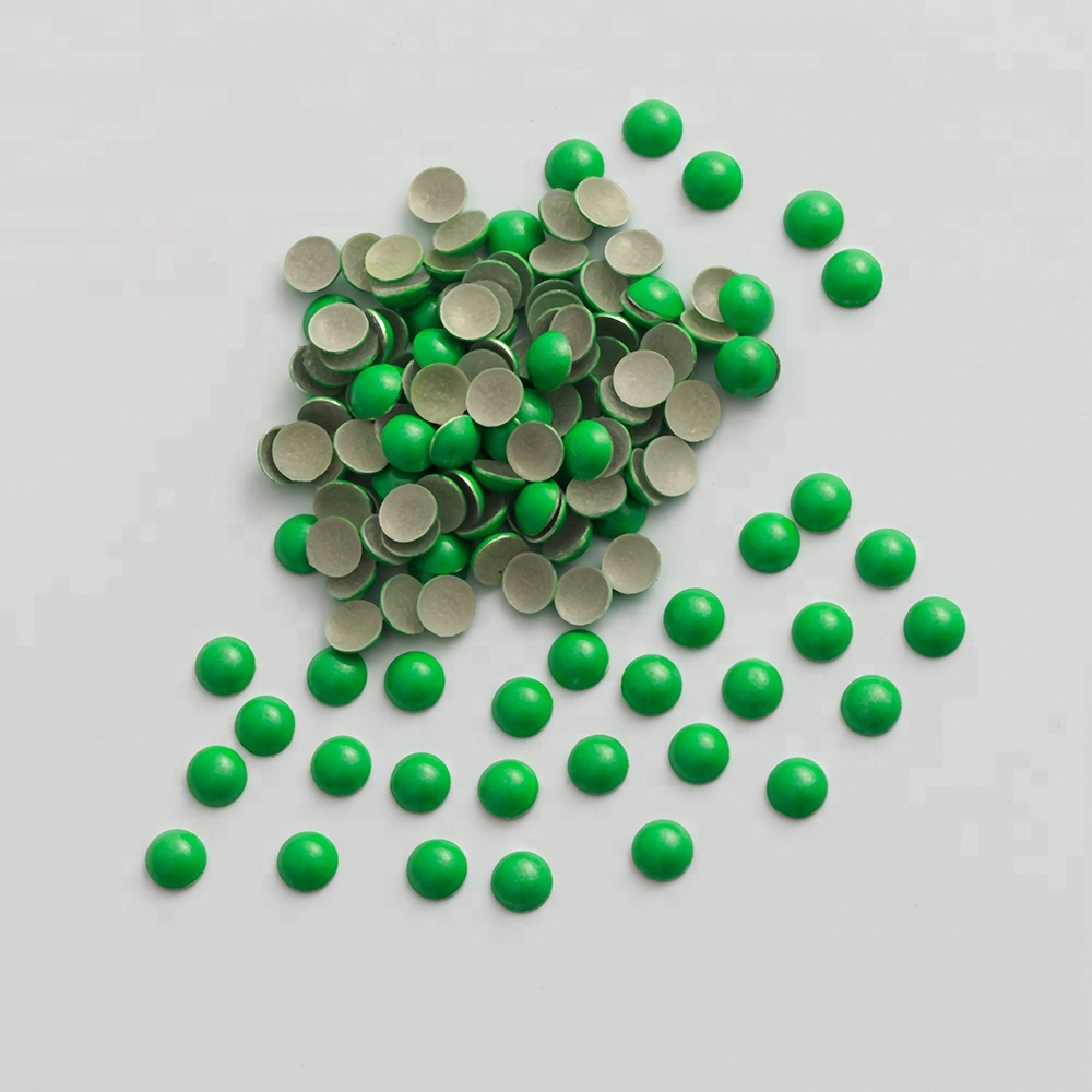 Pearl Domes Nailheads 5mm Hot fix WHITE  144 Pc  1 gross