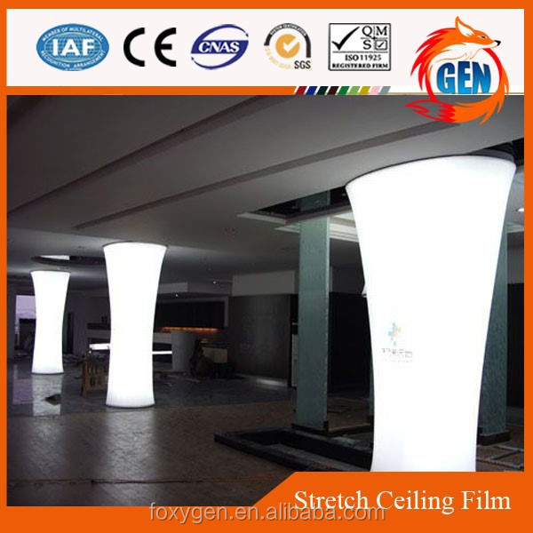 Project factory cheapest construction pvc ceiling design for decoration with 15-year warranty for swimming pools