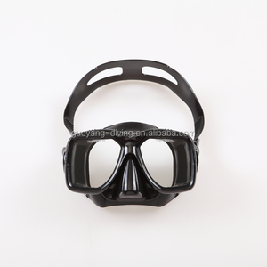 Wonderful Durable Diving Mask and Snorkel Set Colorful Swimming Goggles for adults