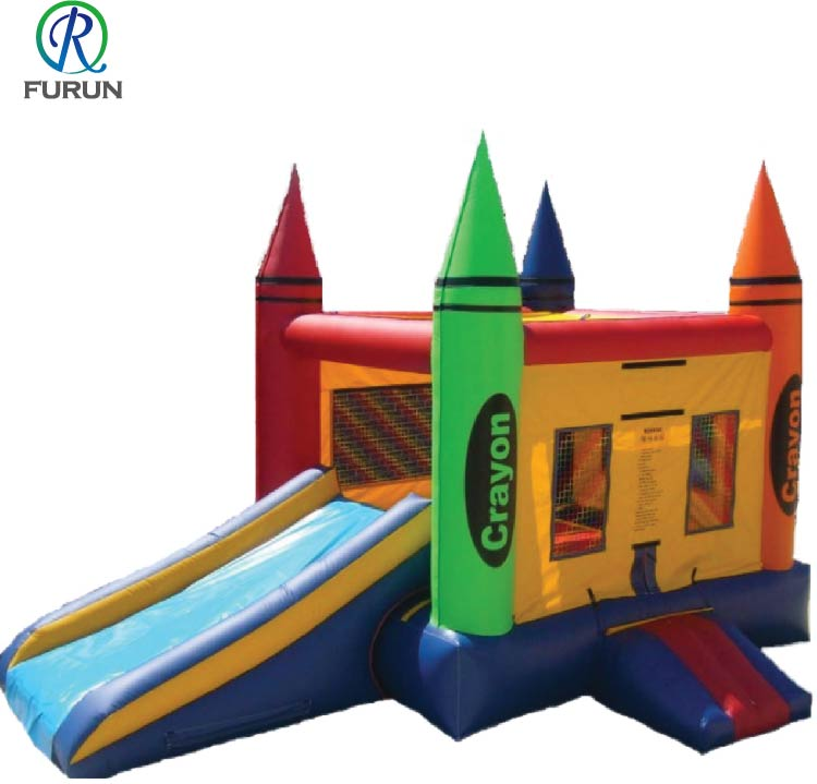 Hot sale inflatable bed trampoline air bouncer