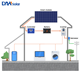 7kw poly solar power generator system with battery