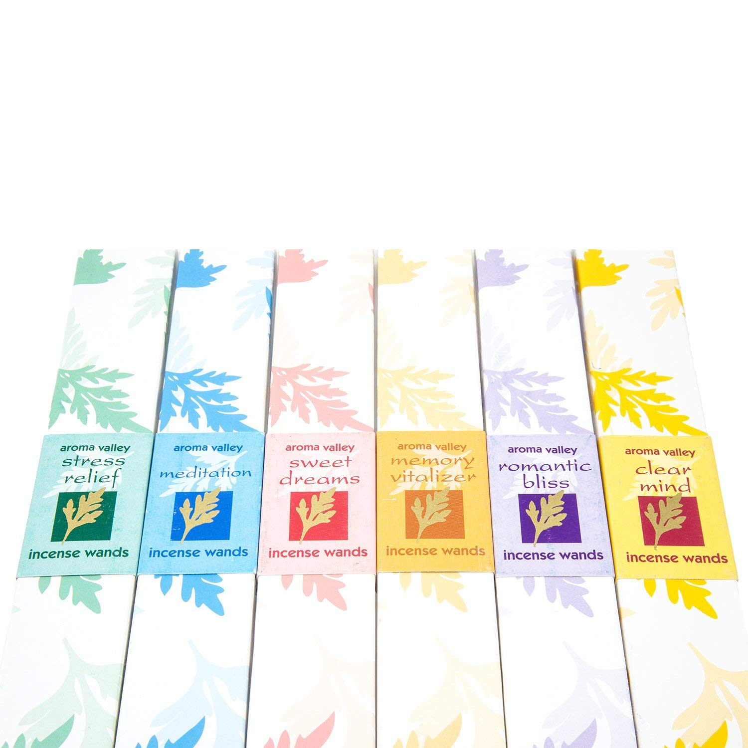 Eco Friendly Organic Handmade Aroma Incense Wands with Ceramic Holder Clear Mind Meditation Memory Vitalizer Romantic Bliss Stress Relief Sweet Dreams,10 Incense Sticks in Each Pack