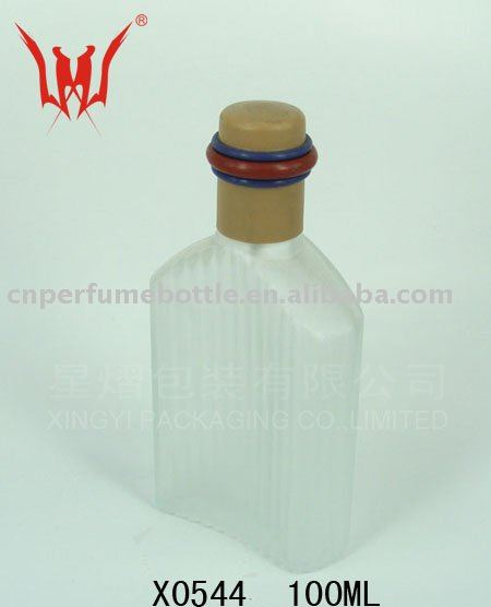 100 ML Glass Cosmetic Packaging Bottle For Men