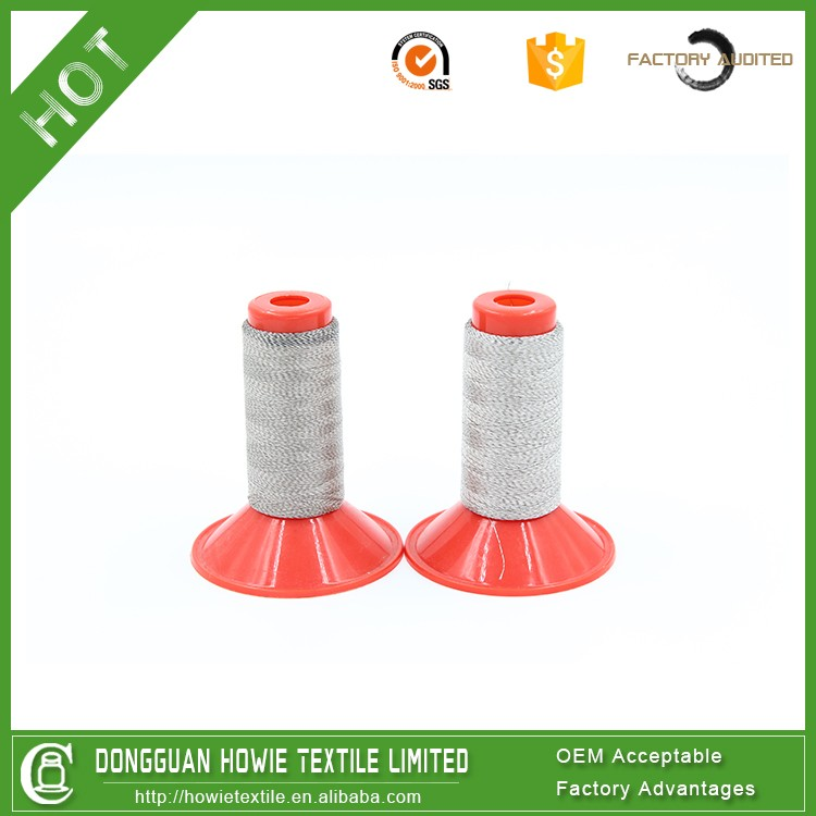 electric conductivity metal thread,stainless steel 316L yarn for knitting and weaving