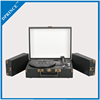 Customizable logo portable vinyl turntable player record player with Built-in speaker
