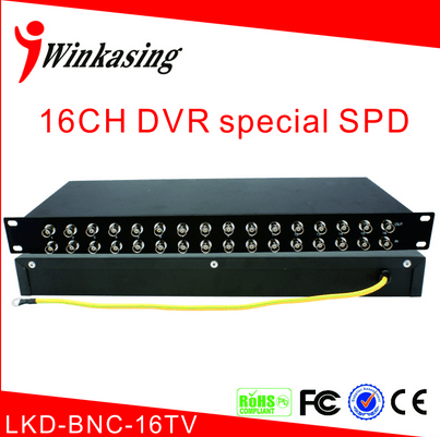 match the signal series multi-functional surveillance cameras lightning protection device LKD-BNC-16TV