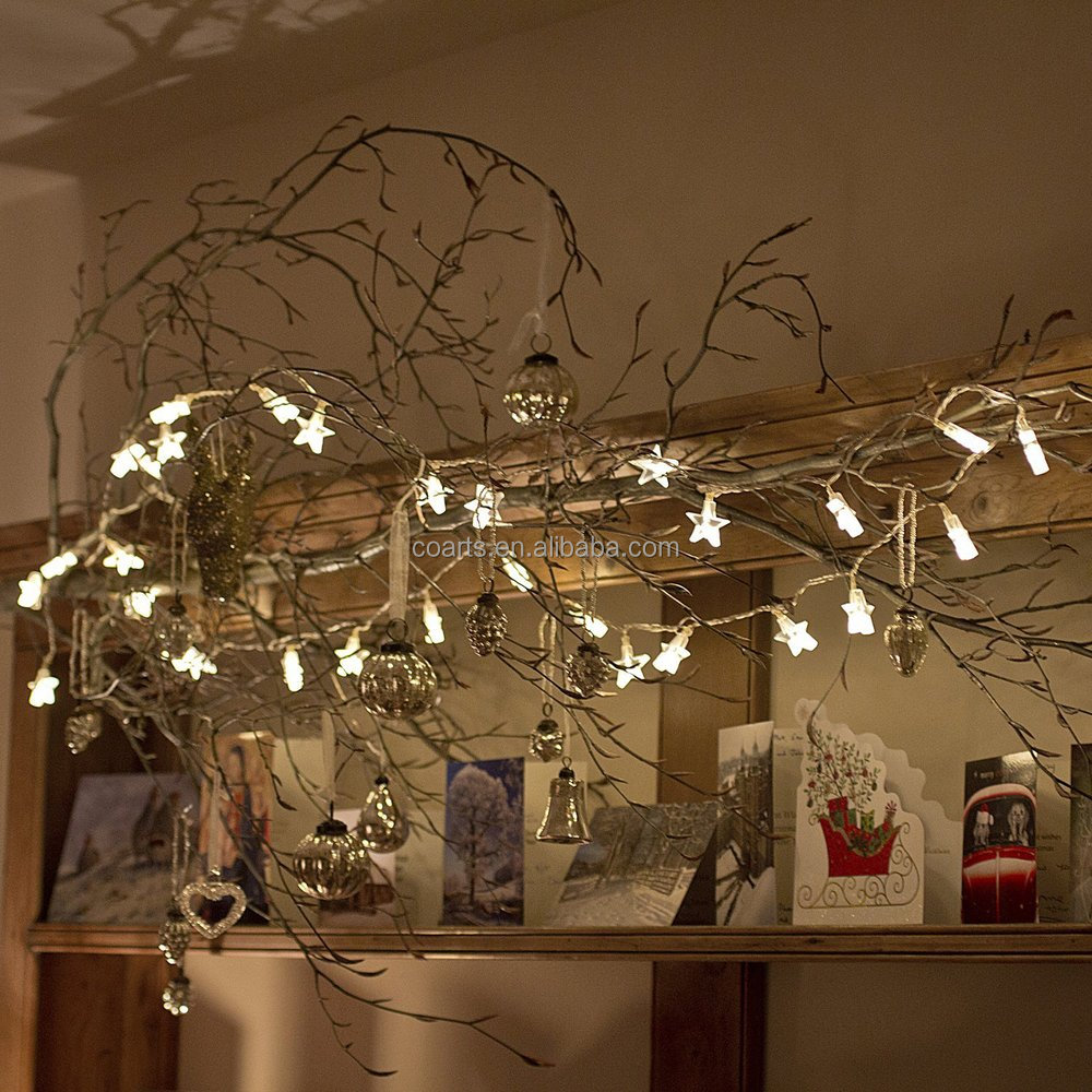Christmas Falling Star String Battery Power Led Fairy Christmas ...