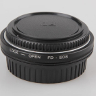 FD Lens to EOS EF Body Mount Adapter with Optical Glass Focus Infinity 450D 50D 5D 500D 550D 600D 650D 700D FD-EOS