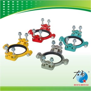 Classcial good quality steel pole clamps