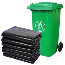 More specifications Black industrial heavy duty garbage plastic bag  for Property sanitation Hotel