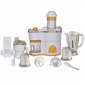 110v Quiet Food Processor Blender Mixer Juicer All In One Kitchen Combo Set