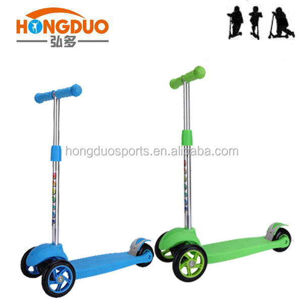 Easy adjustable kick scooter /bicycle children for sale