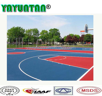 Epdm Outdoor Basketball Court