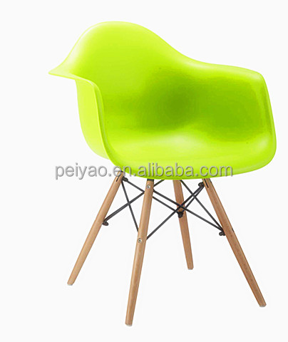 Hot Selling Outdoor Colorful Plastic Dinning Chair